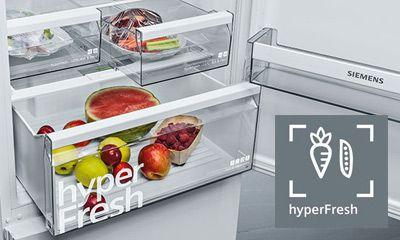 Siemens Kühlschrank Outlet : Kühlgeräte mit hyperfresh der siemens extraklasse elektrogeräte